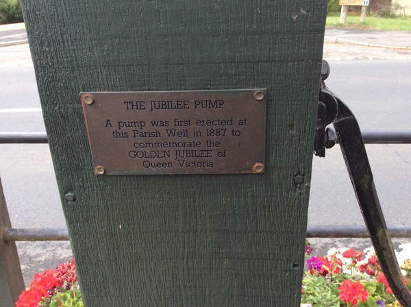 Jubilee water pump Stewkley