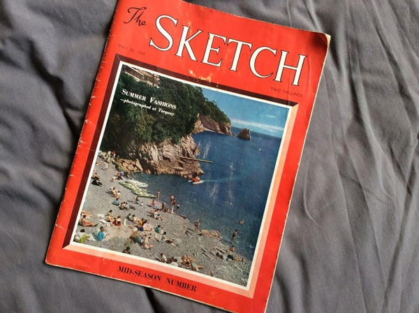 the sketch magazine cover 1959